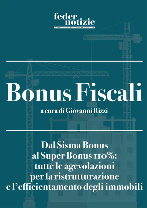 Bonus Fiscali e Superbonus 110%